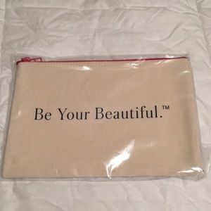 Beauty Counter Cosmetic Bag -canvas